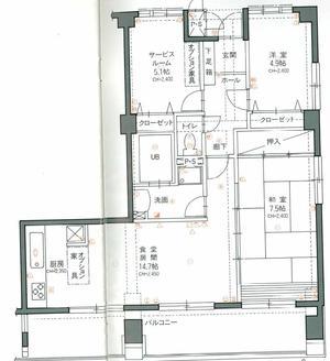 パーソンライフ千代 504号室