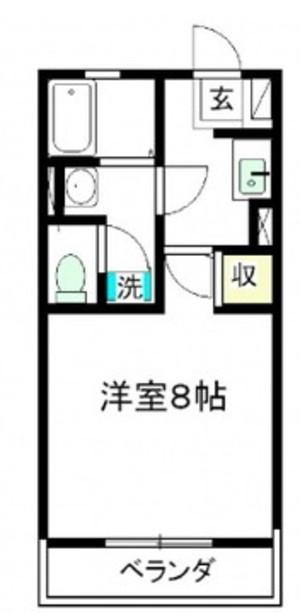 コーストヴィレッジⅠ204号室