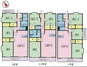 シャンデリー21 103号室